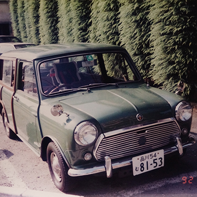 Austin COUNTRYMAN MK2 AT<br>(アーモンドグリーン)