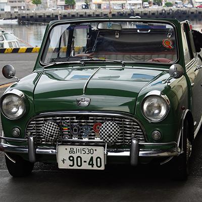Austin mini ClayFord cabriolet<br>(グリーン・内装赤+グレー)