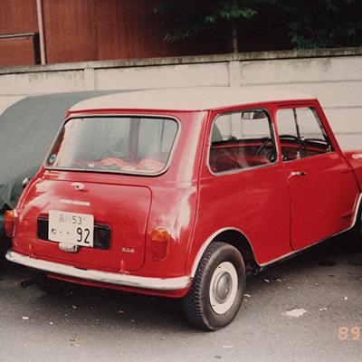 Morris 850 Mk1<br>(タータンレッド)