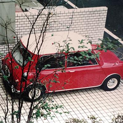 Austin Cooper 1275S Mk1<br> (タータンレッド/O・W)